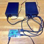 Raspberry PiでNASとバックアップサーバを構築する