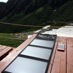 登山においてソーラーチャージャーはモバイル端末向け電源として有効か?