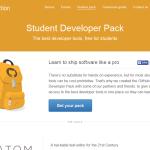 学生注目、GitHub Student Developer Packがいい感じ、GitHubのMicroプランも無料で使えます