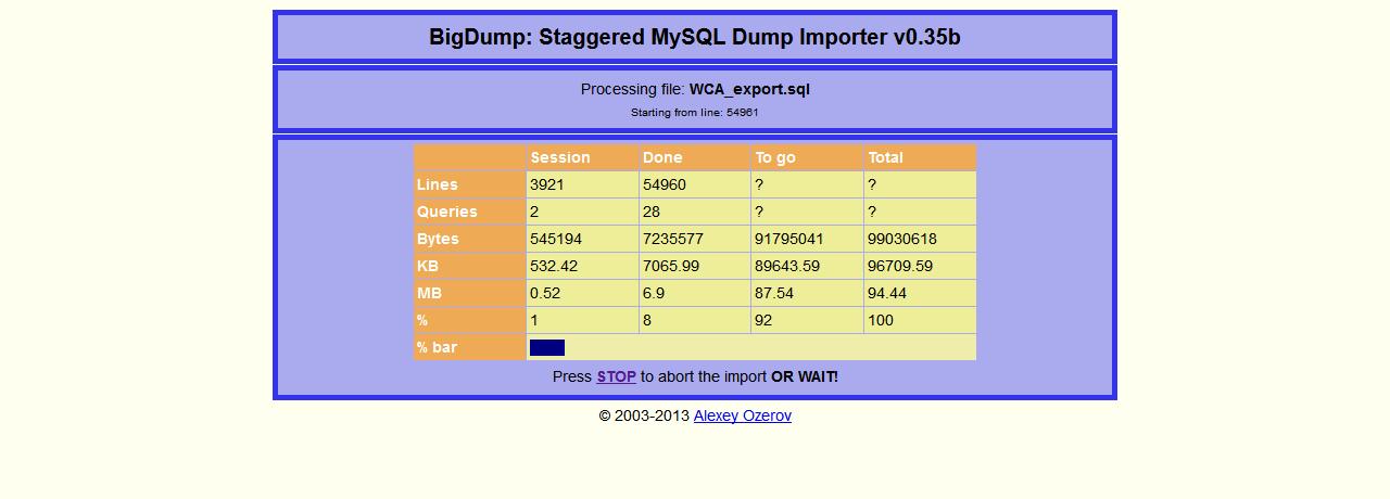 wcaexport-with-bigdump-1_5
